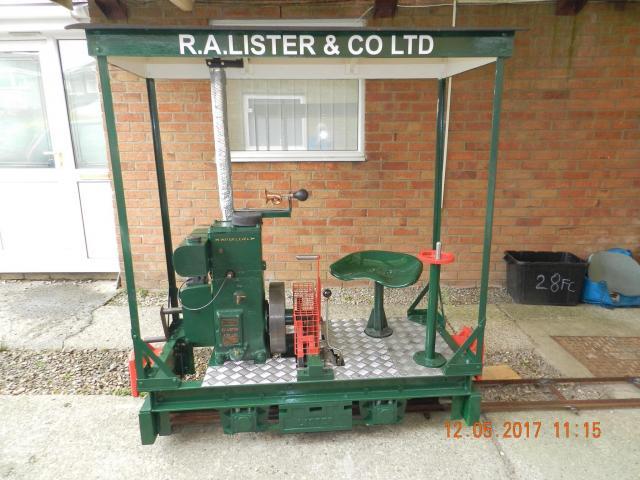 Lister Railtruck