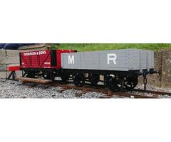 "71/4"" Scale Midland Manure wagon"