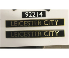 "2-1/2"" up to 7-1/4"" gauge nameplates and headboards"
