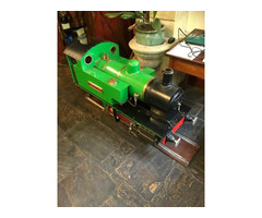 7 1/4 gauge steam train and diesel