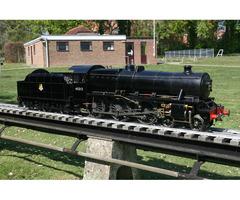 Heavily Modified Model Works 5 Inch Gauge Black 5