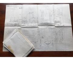 "SOLD NOW - Lion plans 3.5"" and 5"" - 15 sheets."