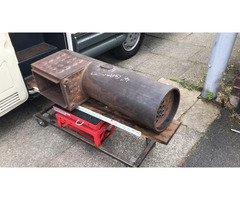 "SOLD - AJB 4"" live steam Garrett traction engine boiler new and unused"