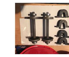 """5"""" Gauge Wheel Sets & Axle Boxes"""