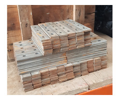 140 PAIRS OF NEW FISHPLATES FOR 6 LB STEEL RAIL