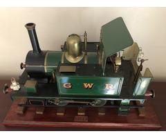 """3 1/2 gauge model steam engine """"titch"""""""